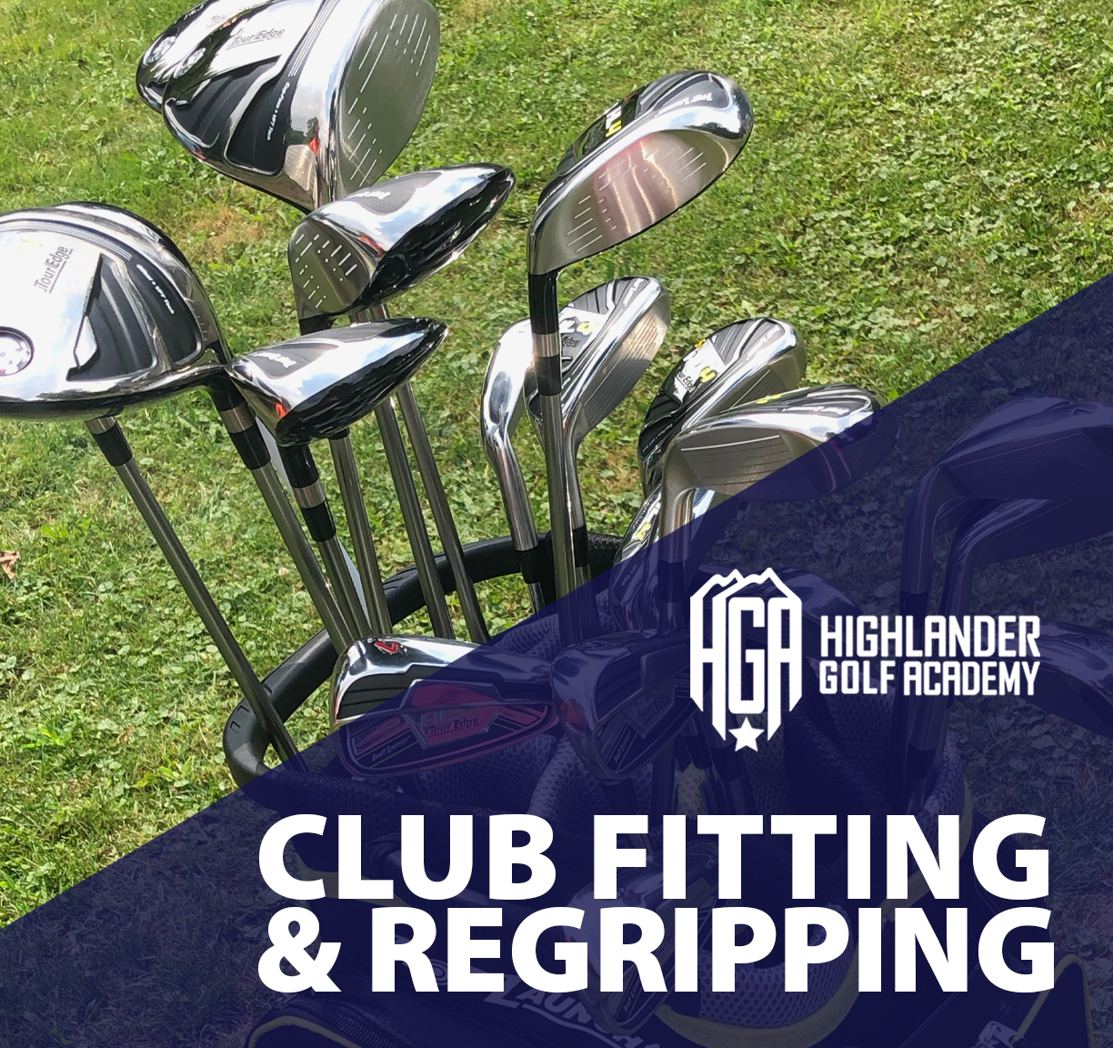 HGA Golf Cub Fitting, Repair & Regripping Services