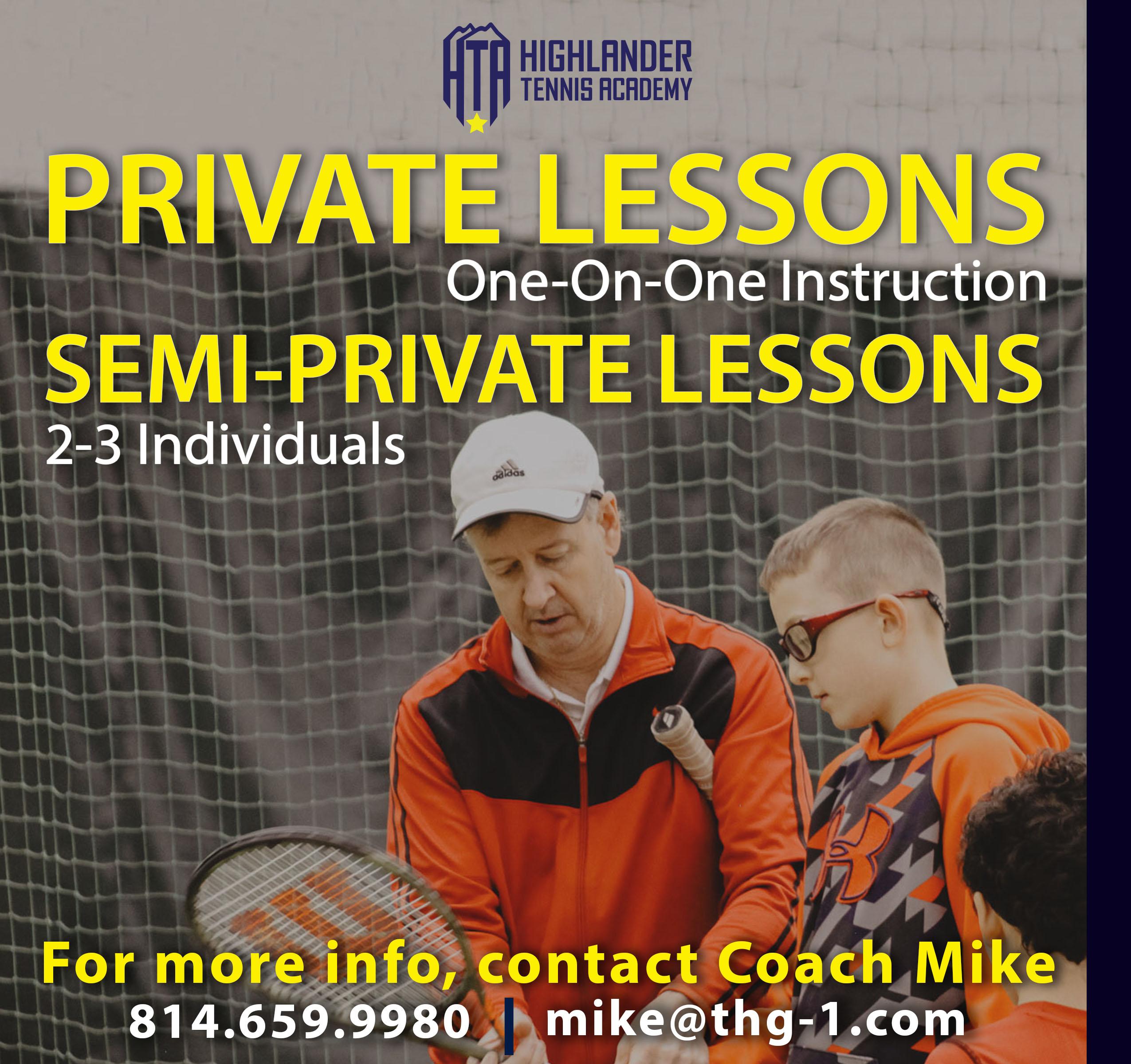 HTA Tennis Lessons